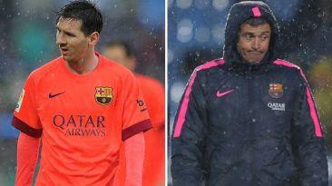 Barcelona: Mathieu confirmó problema entre Messi y Luis Enrique