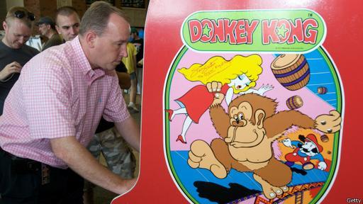 Donkey Kong es uno de los videojuegos clásicos más populares.
