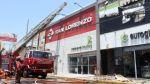 Trujillo: incendio consumió discoteca y afectó otros 2 locales - Noticias de romero trading