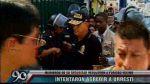 Casi agreden a Urresti en presentación de delincuentes (VIDEO) - Noticias de policiales