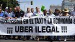 Uber ha convertido la guerra anti-taxis en un fenómeno mundial - Noticias de huelga poder judicial
