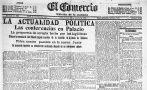 1915:No se instaló el Congreso