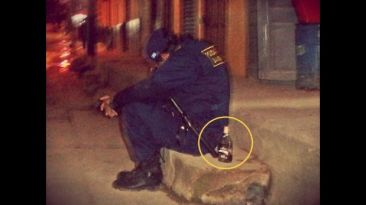 Policía municipal hallado ebrio en la calle será sancionado