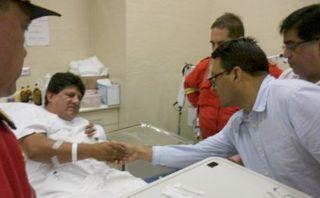 Bomberos heridos en incendio de VMT fueron sometidos a cirugías