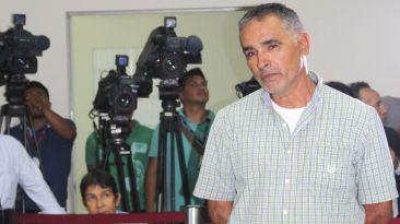 El padrastro agresor en decisiva audiencia judicial [Fotos]