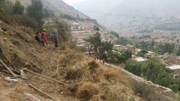 Huarochirí: desalojaron a invasores de sitio arqueológico