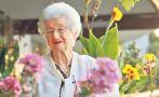 Adulto mayor: ella busca para Lima un real jardín botánico