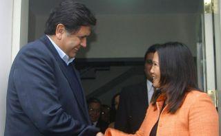 Alan García y Keiko Fujimori irían al Congreso por reglaje