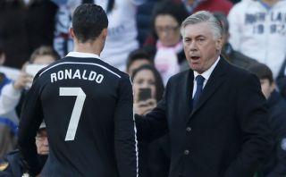 "Carlo Ancelotti: ""Cristiano Ronaldo cometió un error y lo sabe"""