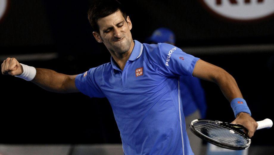 Djokovic vs. Wawrinka: imperdibles imágenes de la semifinal