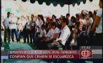 Rubén Leiva fue sepultado y su familia exige conocer la verdad