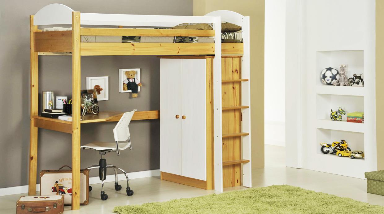 Cinco ideas de muebles para espacios peque os foto - Camas con escritorio debajo ...