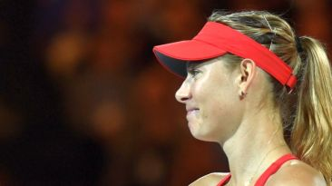 """Sharapova: """"Es duro volver a casa con el trofeo más pequeño"""""""