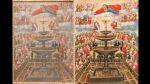 Obras de arte coloniales fueron restauradas: el antes y después - Noticias de cusco