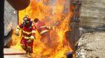 Uno de los bomberos quemados en incendio fue dado de alta - Noticias de