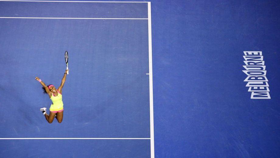 Serena Williams, campeona del Australian Open, en imágenes