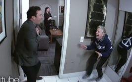 YouTube: Ellen DeGeneres asustó a Jimmy Fallon (VIDEO)