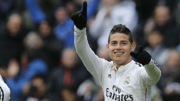 Real Madrid: James Rodríguez, el gol ante Real Sociedad (VIDEO)