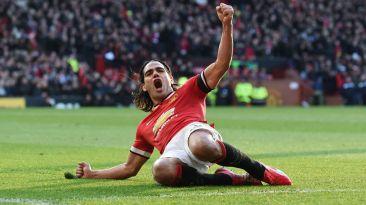 Manchester United: Radamel Falcao volvió al gol y festejó así