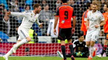 Real Madrid goleó 4-1 a la Real Sociedad por la Liga BBVA