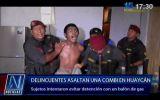 Huaycán: amenazan con estallar balón de gas para evitar captura