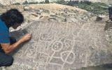 Hallan en Checta indicios de escritura de hace cinco mil años