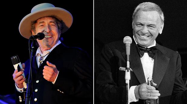 Bob Dylan lanzará disco con versiones de temas clásicos de Frank Sinatra
