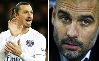 """""""Pep Guardiola es una m..."""", dijo representante de Ibrahimovic"""