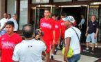 Alianza Lima: Huracán llegó para jugar la Copa Libertadores