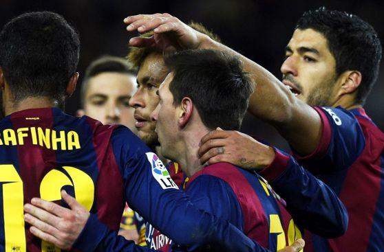 Barcelona y su dramático triunfo sobre el Villarreal (FOTOS)
