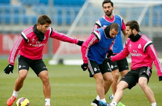 Real Madrid entrenó con Cristiano Ronaldo aún suspendido