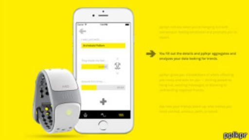 La app se sincroniza con un monitor del ritmo cardíaco para saber cómo te afectan tus relaciones sociales.