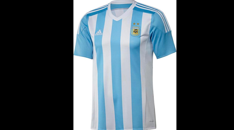 camiseta argentina para la copa america 2015 6ef22e765c229
