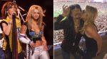 Britney Spears y Steven Tyler se reencontraron en el Super Bowl - Noticias de missy elliot