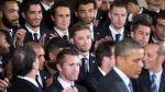 Barack Obama recibió a LA Galaxy y elogió a jugador homosexual - Noticias de robbie rogers