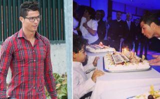 Cristiano Ronaldo: así celebraría su cumpleaños treinta