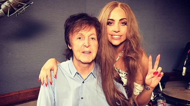 Paul McCartney y Lady Gaga trabajan un proyecto musical juntos
