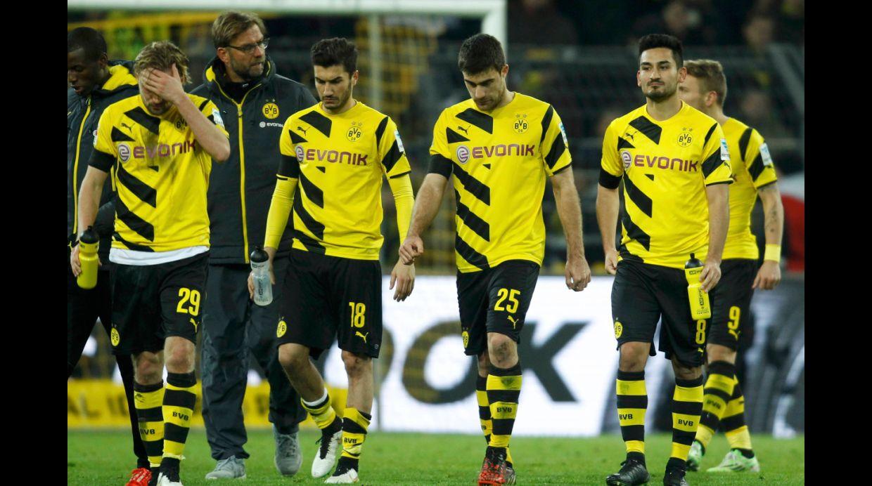 El Dortmund toca fondo