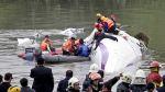 El dramático rescate tras el accidente de avión en Taiwán - Noticias de accidente en chincha