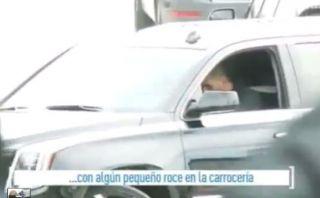 Lionel Messi: empleado del Barza condujo su auto y lo chocó