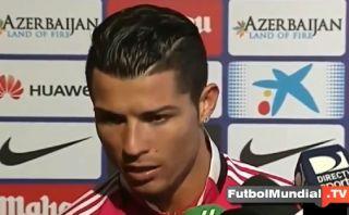 """Cristiano Ronaldo a un periodista: """"No eres inteligente"""""""