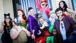 Amor de historieta: así se casó una pareja amante de los cómics - Noticias de la mujer maravilla