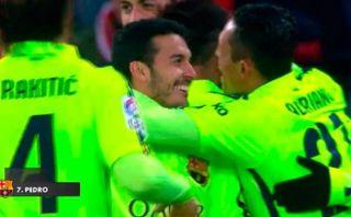 Messi y una jugada sensacional para el quinto gol del Barcelona