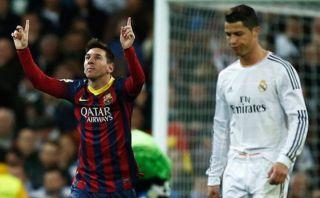 Lionel Messi quedó a 5 goles de Cristiano Ronaldo en Liga BBVA