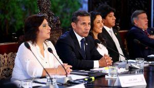 Humala inició segunda cita del diálogo sin presencia del Apra