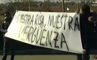 """""""Vuestra risa, nuestra vergüenza"""", el mensaje al Real Madrid"""
