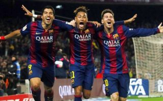 Barcelona: Messi, Neymar y Suárez, números del tridente letal