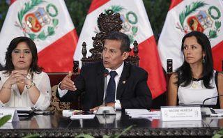 """Humala: """"Es importante no mezclar lo jurídico con lo político"""""""