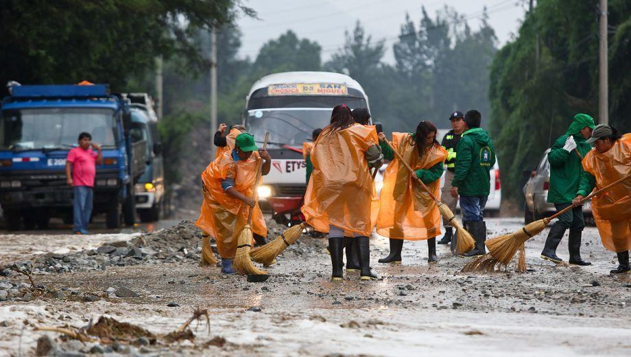 Huaicos en Chosica dañaron al menos 40 viviendas [FOTOS]