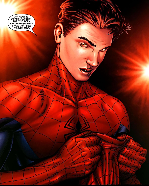 #Mi nombre es Peter Parker y he sido Spider-Man desde que tenía 15 años. (Marvel)